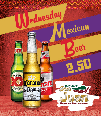 Wednesday Mexican Beer
